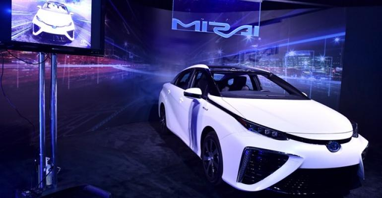 Mirai global production pegged at 3000 annually