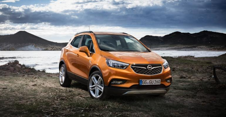 Mokka X leads Opelrsquos ambitious product cadence