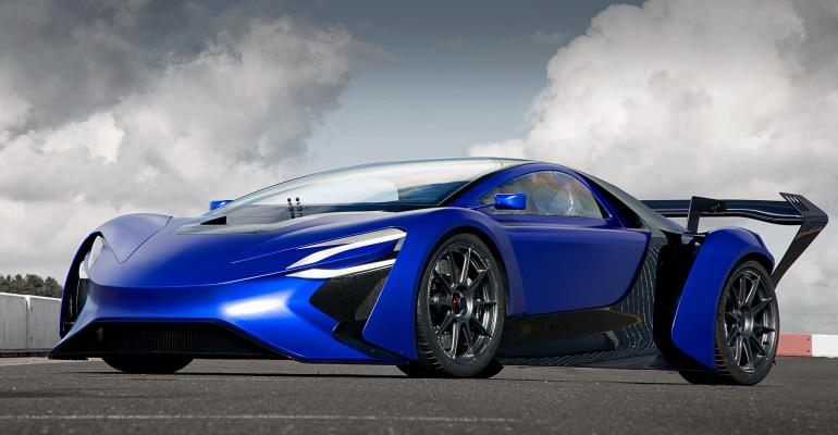 AT96 concept featured at 2016 Geneva show morphing into 1018hp supercar