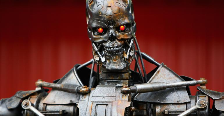 Terminator robot one of many monsters reflecting manrsquos fear of artificial intelligence going back to Mary Shelleyrsquos ldquoFrankensteinrdquo