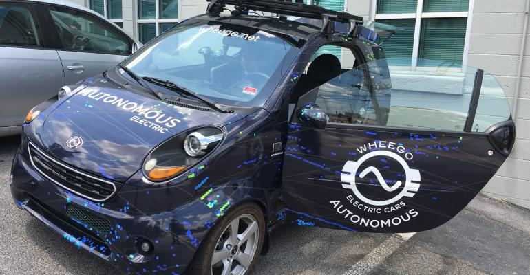 Former EVmaker Wheego aims to be tech supplier to Chinese automakers