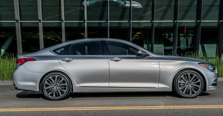 New G80 current model shown to be built in Alabama