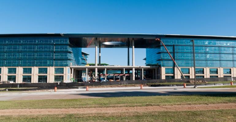 Construction underway at Toyota39s new Plano TX headquarters