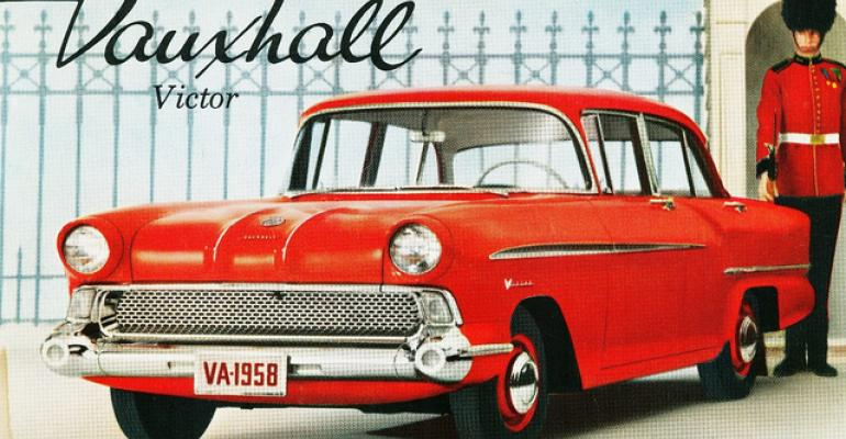 Pontiac dealers add imported Vauxhall Victor to their 3958 US lineup