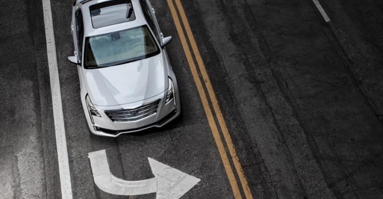 Cadillac prefers supervised rather than autonomous driving