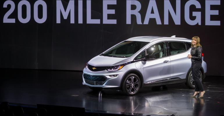 Chevy Bolt affordable EV with more than 200mile range