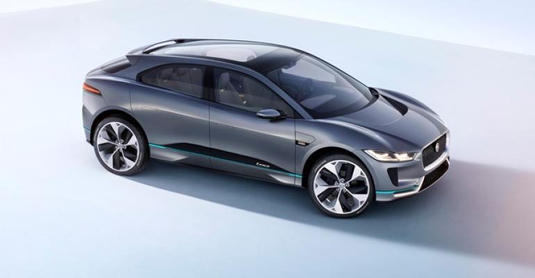 Jaguar iPace EV employs cabforward design