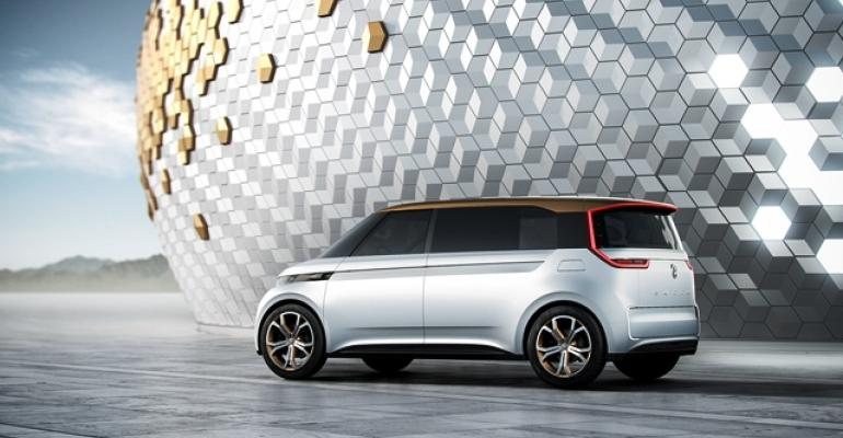 VW BUDDe from 2016 CES among recent Microbus concepts