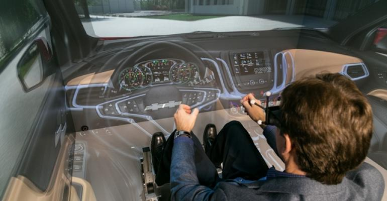 GM virtualreality CAVE helps finetune product designs