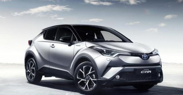 CHR enters burgeoning Small CUV segment in spring