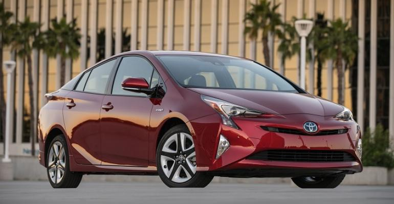 Prius liftback sales fell 129 last year