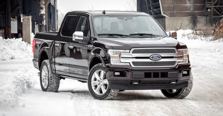 Styling makeover emphasizes width to give rsquo18 F150 more planted stance
