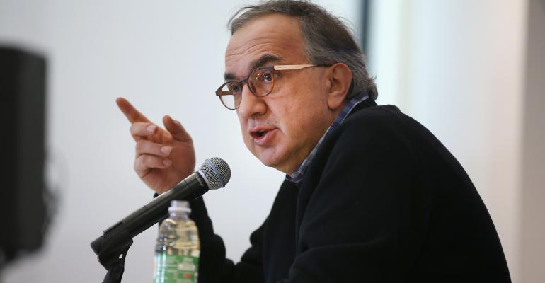 Marchionne on Trump, Tweets, Mexico, Google Self-Driving Cars and Diesels