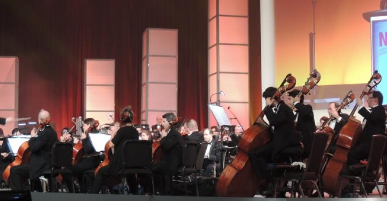 Louisiana Philharmonic Orchestra performs at NADA convention