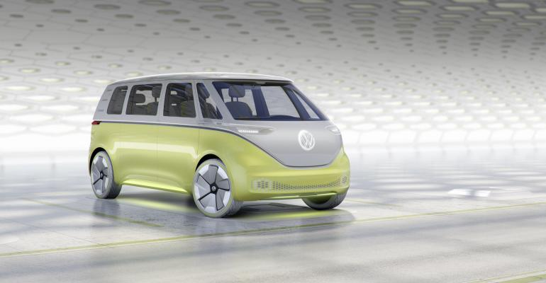ID Buzz concept helps push Volkswagenrsquos allout switch to EVs