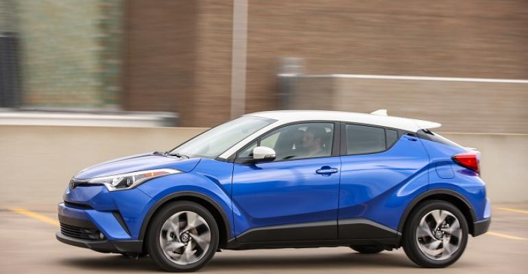 Toyota CHR on sale in US in April