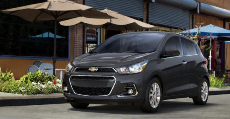 GM Korea exports only lowvolume Spark to US