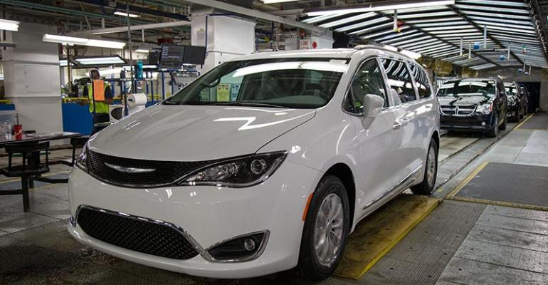 Trade deal would remove tariffs on Canadabuilt Chrysler Pacificas sold in EU