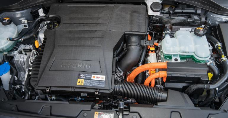 Hyundai Ioniq hybrd on sale now in US