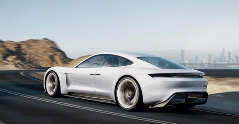Range of models planned for Porsche Mission E