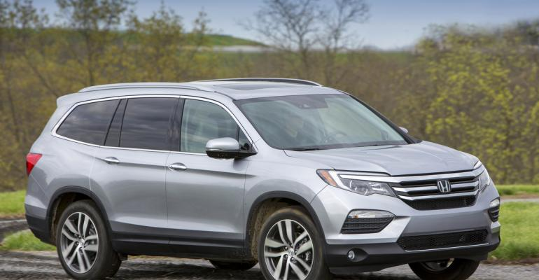 Smaller Honda Pilot due next year