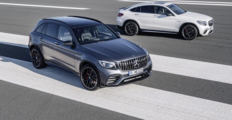 New GLC63 4Matic SUVs flex muscle with turbocharger boost