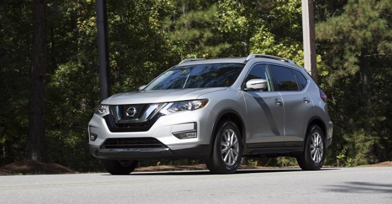 Nissan sold nearly 40000 Rogues in March