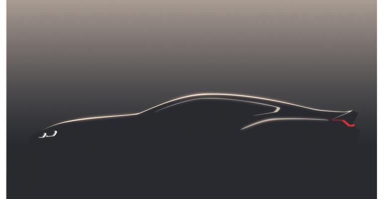 Teaser shot of upcoming 8Series Coupe