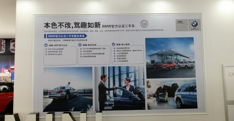 Shanghai BMWMini dealership entices usedcar buyers with free connectivity and navigation updates and 7day return policy