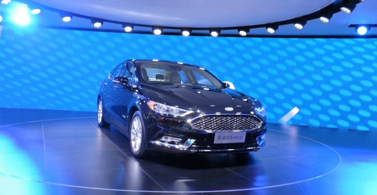 Ford39s China JV launching Mondeo Energi PHEV in 2018