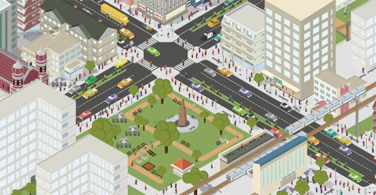 Report links cleaner lesscongested walkable cities to fewer privately owned vehicles