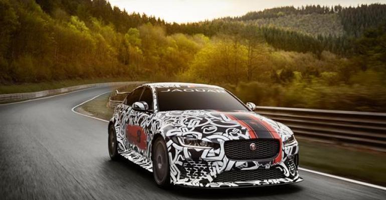 Jaguar XE SV Project 8 at Nuumlrburgring
