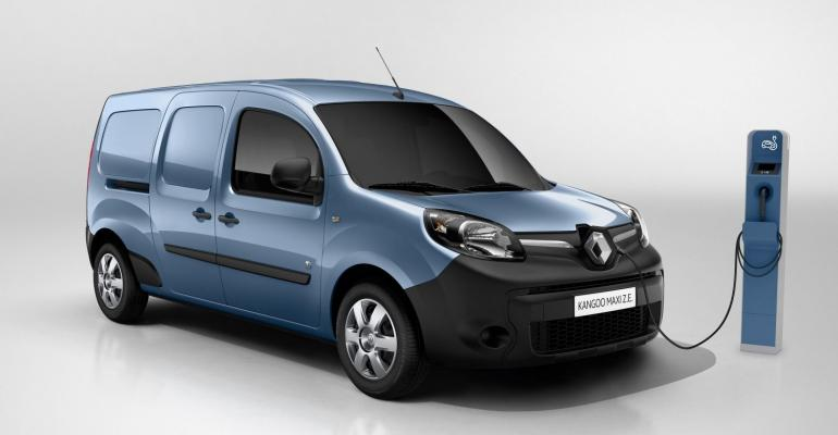 Renault Kangoo in first wave of EVs coming to Argentinian market