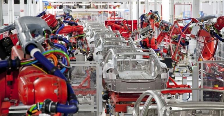 Tesla claims progress in plant safety