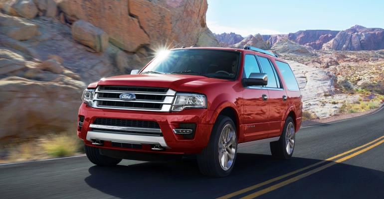 Ford Expedition sales up 14 one of many Ford bright spots in May