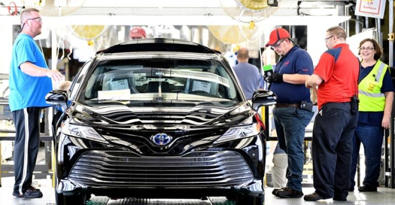 New Camry marks launch of TNGA architecture at Georgetown plant