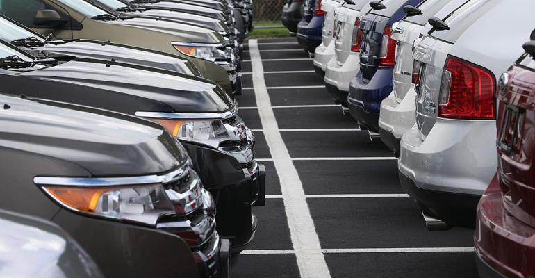National daysrsquo supply of vehicles 68 in May