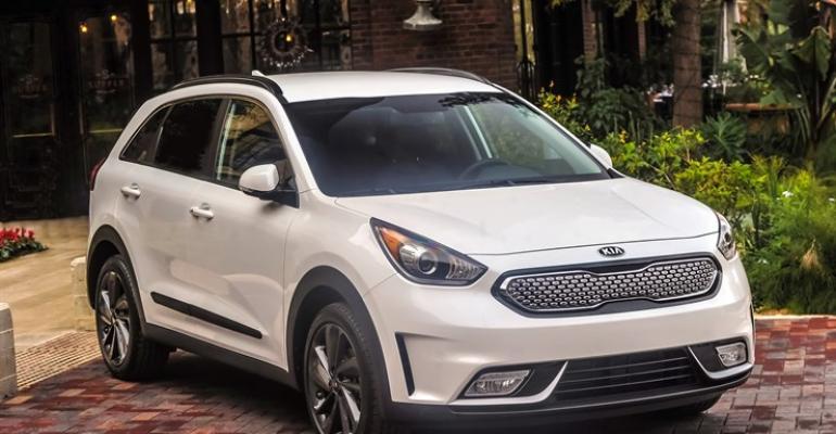 Kia Niro hybrid CUV on sale since February in US