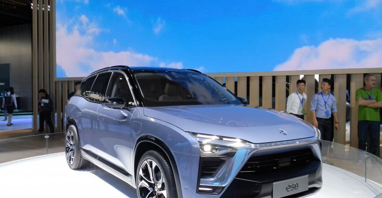 NIO maker of ES8 electric vehicle plans autonomous EV for US in 2020