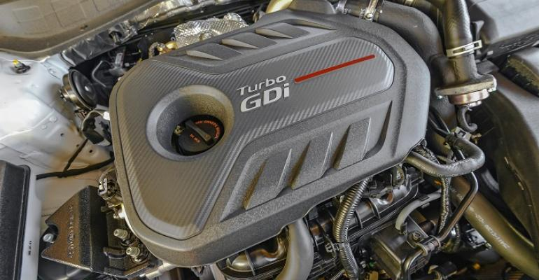 High torque at low speeds can cause LSPI in turbocharged engines