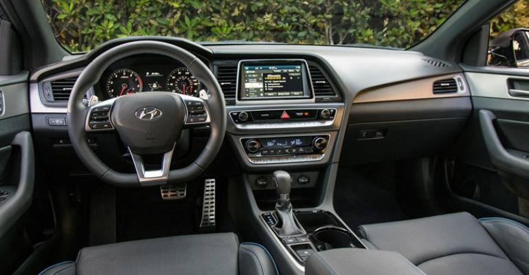 Hyundai Sonata Interior Highlights The Highlight Able