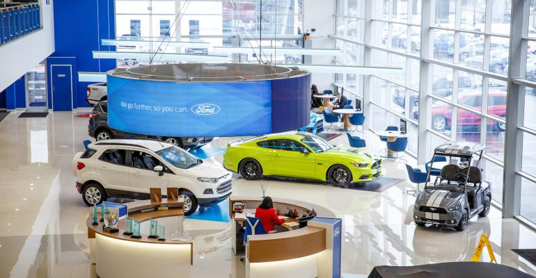 Ford opens Showroom of the Future in Melbourne Australia suburb
