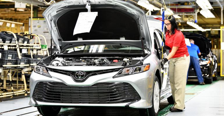 New Camry marks debut of TNGA platform at Georgetown plant