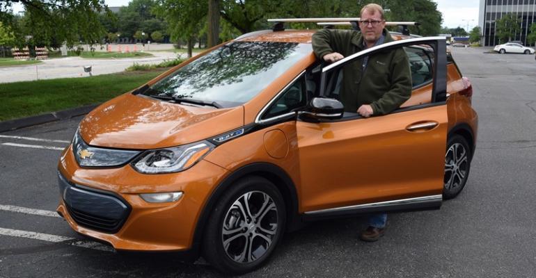 Editor Gritzinger ready for zeroemission challenge in Bolt EV