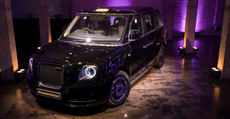 Electric taxi maker estimates cabbiesrsquo weekly average fuel savings of pound100
