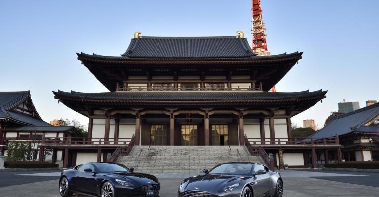 UK luxury sports car maker expanding Japanese footprint