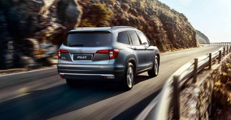 Pilot SUV one of just three Honda models now offered in Russia