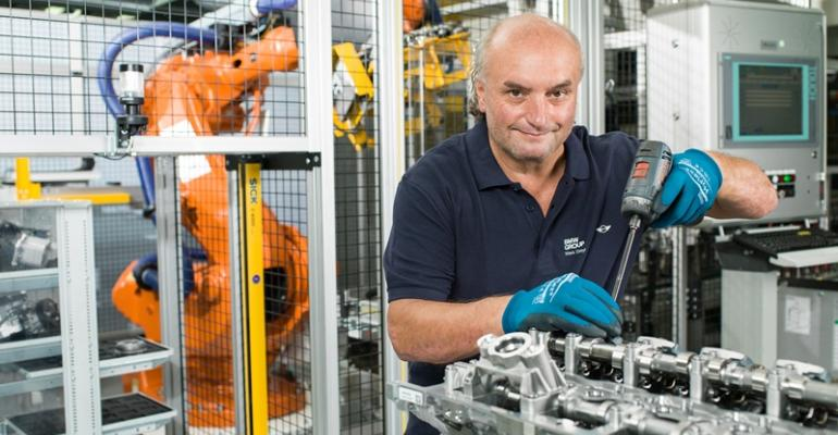 BMWrsquos largest engine plant in Steyr Austria completes an engine every 14 seconds