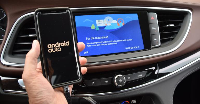 Android Auto among Enclave Avenirrsquos connectivity items