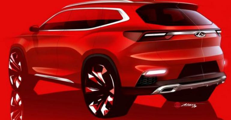 Chinese automaker taps toptier suppliers in creating SUV concept